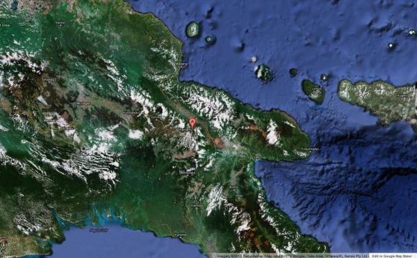 Puissant séisme de magnitude 6,6 en Papouasie-Nouvelle-Guinée
