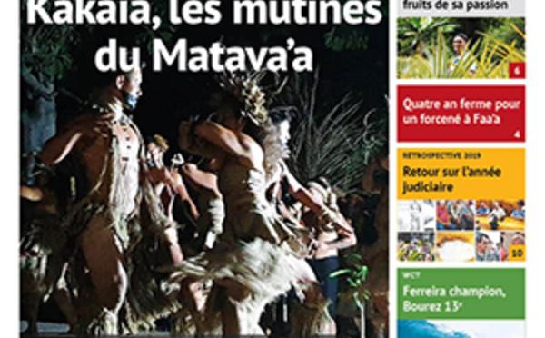 TAHITI INFOS N°1556 du 20 décembre 2019