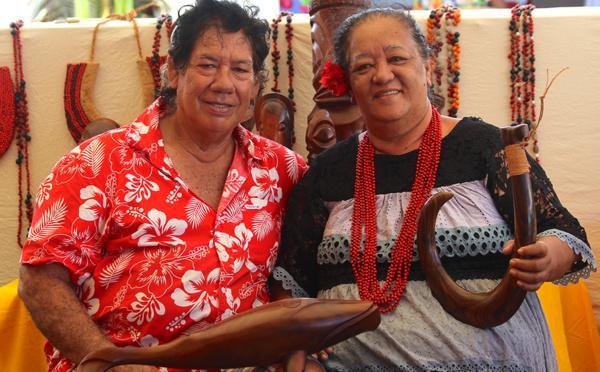 À Ua Huka, dans la pension-musée...
