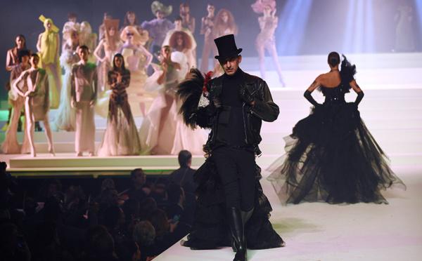 Un dernier défilé féerique pour l'enfant terrible de la mode Jean Paul Gaultier