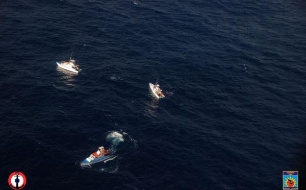 Le Mika Hiti a été remorqué, les marins ont retrouvé leurs familles dans la nuit