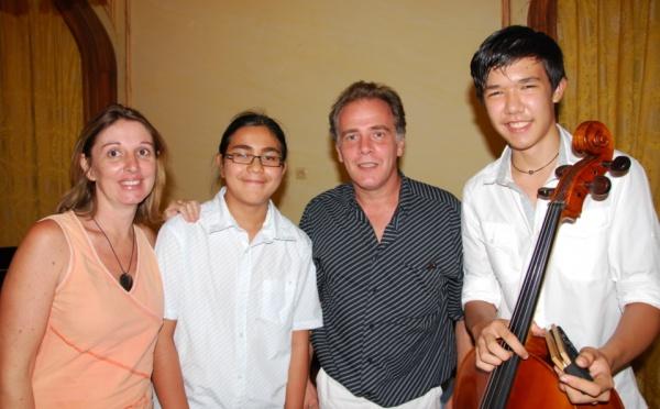 Les Lauréats du classique 2012 à la Présidence