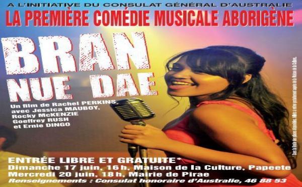 """Projection gratuite de la 1ère comédie musicale aborigène """"BRAN NUE DAE"""""""