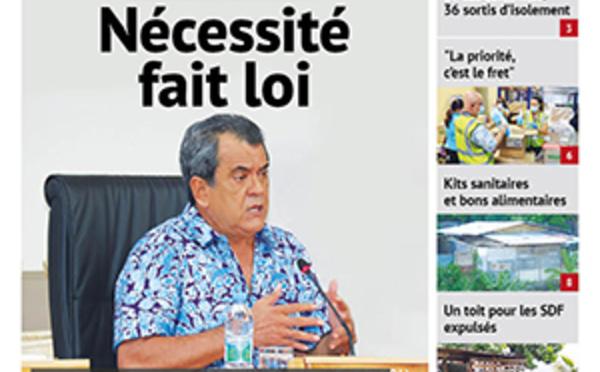TAHITI INFOS N°1639 du 24 avril 2020