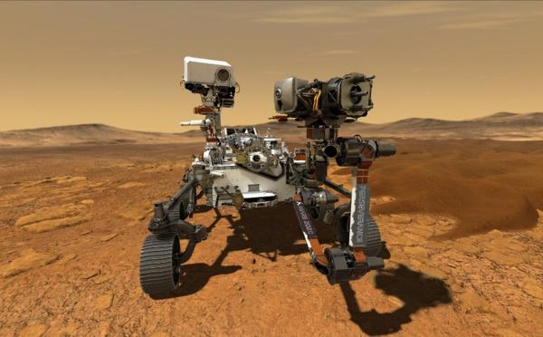 Eté 2020, l'échappée martienne