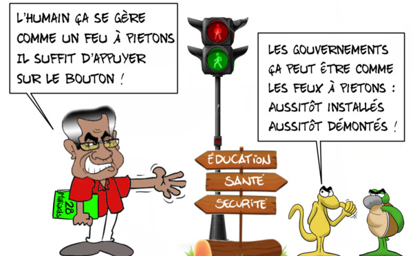 """""""Feu rouge pour le gouverment ?"""", par Munoz"""