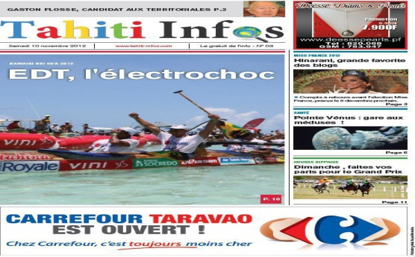 TAHITI INFOS N°3 du 10 novembre 2012