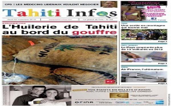 TAHITI INFOS N°8 du 22 novembre