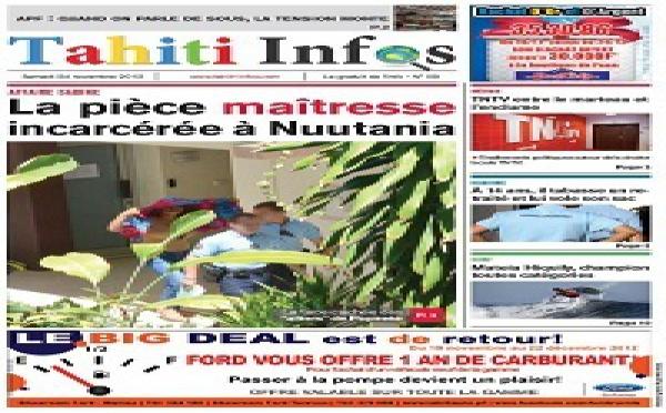 TAHITI INFOS N°9 du 24 novembre