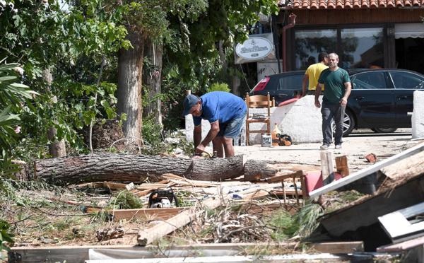 L'ouest de la Grèce touché par un rare ouragan méditerranéen