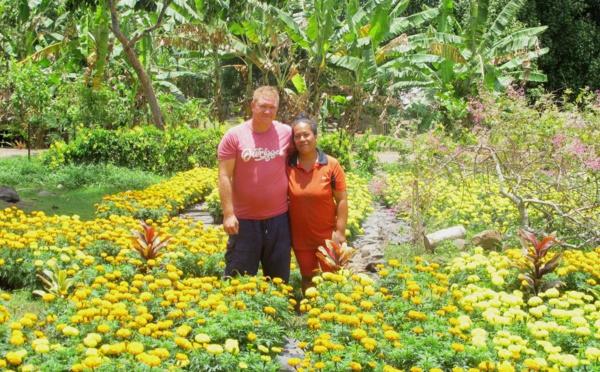 Des fleurs pour la Toussaint