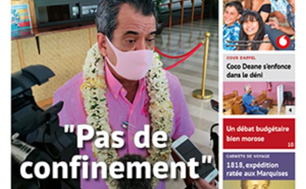 TAHITI INFOS N°1768 du 30 octobre 2020