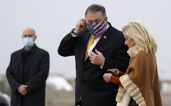 Macron a reçu Pompeo tout en regardant déjà vers Biden