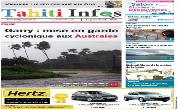 TAHITI INFOS N° 30 du 26 janvier 2012