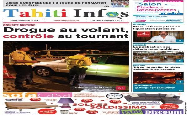 TAHITI INFOS N°31 du 29 janvier 2013