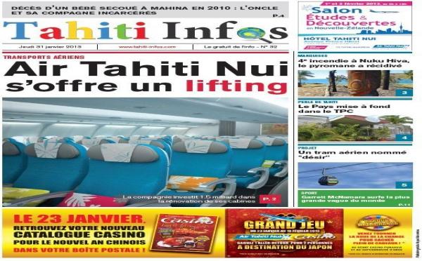 TAHITI INFOS N°32 du 31 janvier 2013