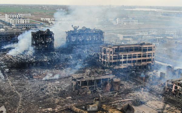 Chine: 53 personnes condamnées à la prison pour une catastrophe chimique