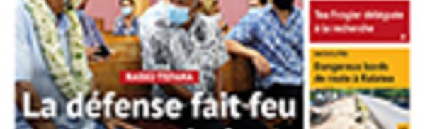 TAHITI INFOS N°1786 du 26 novembre 2020