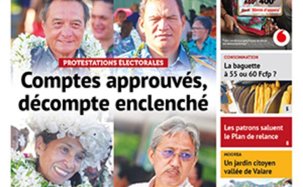TAHITI INFOS N°1796 du 10 décembre 2020