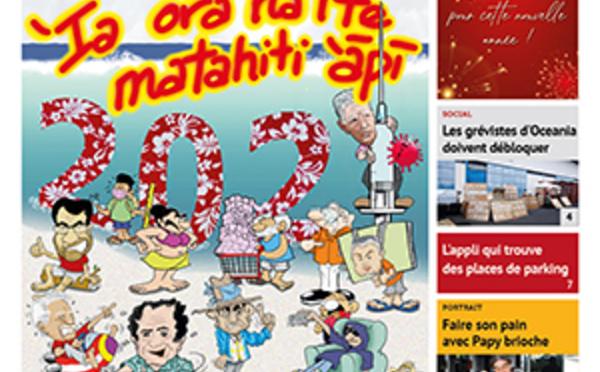 TAHITI INFOS N°1810 du 31 décembre 2020