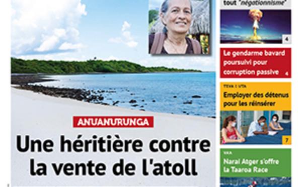 TAHITI INFOS N°1851 du 1er mars 2021