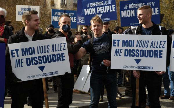 Dissolution du groupe d'extrême droite Génération identitaire