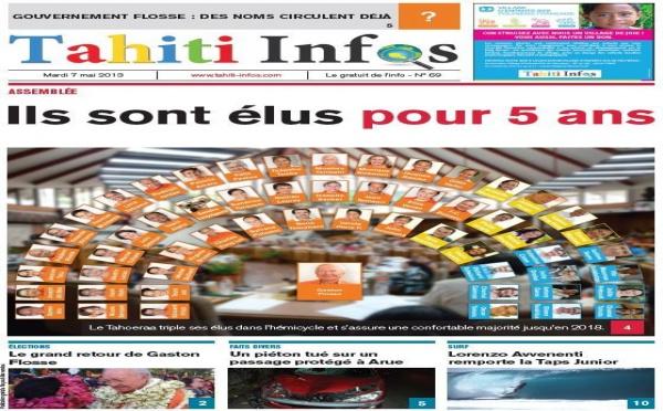 TAHITI INFOS N°69 du 7 mai 2013