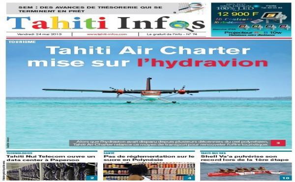 TAHITI INFOS N° 74 du 24 mai 2013