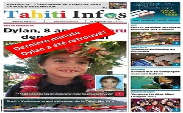 TAHITI INFOS N°75 du 28 Mai