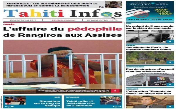 TAHITI INFOS N° 76 du 31 mai 2013