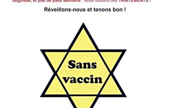 Indignation en N-Calédonie après l'utilisation de l'étoile jaune par des anti-vaccins