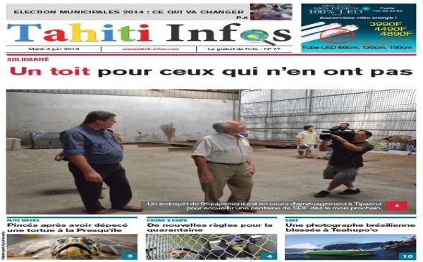 TAHITI INFOS N°77 du 4 juin 2013