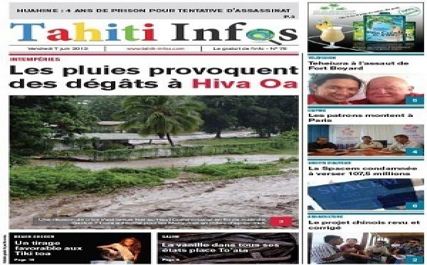 TAHITI INFOS N°78 du 7 juin 2013