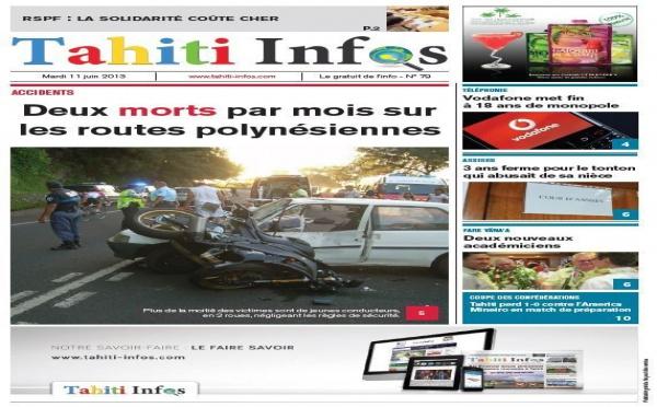 TAHITI INFOS N°79 du 11 juin 2013