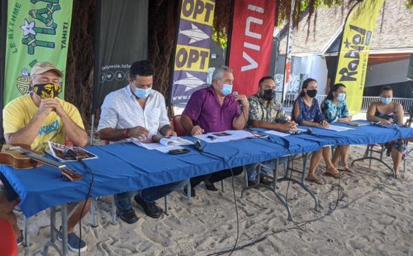 Le 'ori Tahiti à la fête en juin
