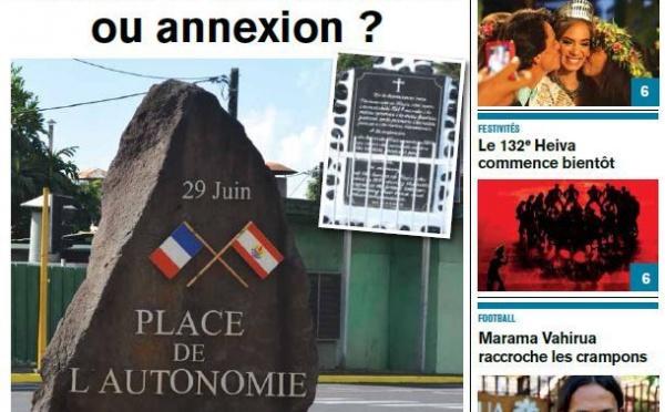 TAHITI INFOS N°84 du 28 Juin 2013
