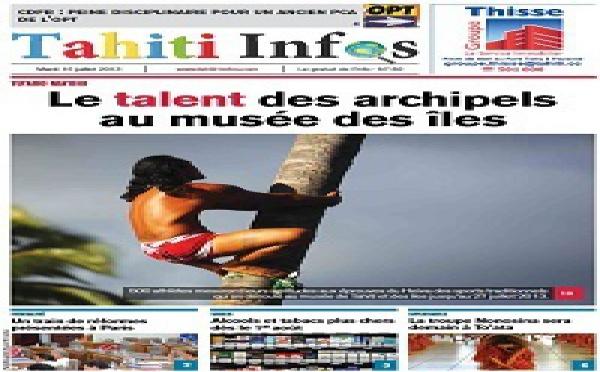 TAHITI INFOS N° 89 du 16 juillet 2013
