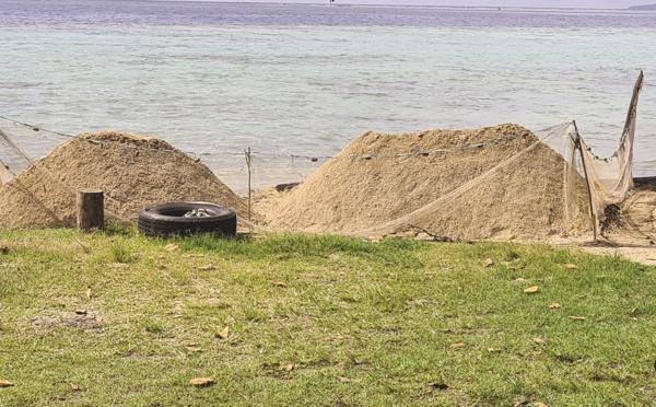 Te'avaro dépouillée de son sable