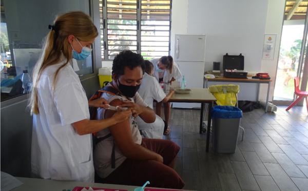 Près de 56 000 personnes sont complétement vaccinées au fenua