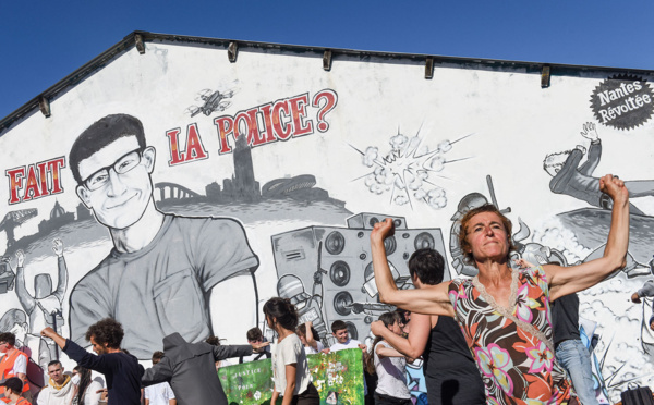 Affaire de Steve: sa chute dans la Loire a eu lieu au moment de l'intervention policière