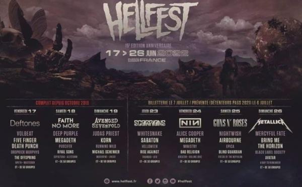 Hellfest: Metallica et une double édition en 2022