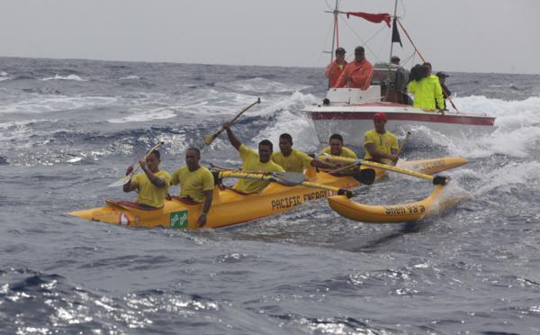Shell Va'a impérial à la Vodafone Channel Race