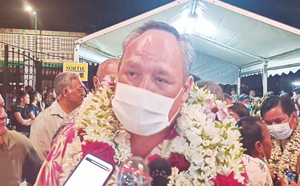 Municipales : Matahi Brotherson plébiscité à Uturoa