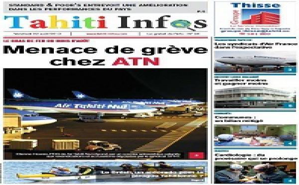 TAHITI INFOS N°94 du 2 Août 2013
