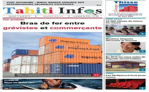 TAHITI INFOS N° 98 du 17 août 2013