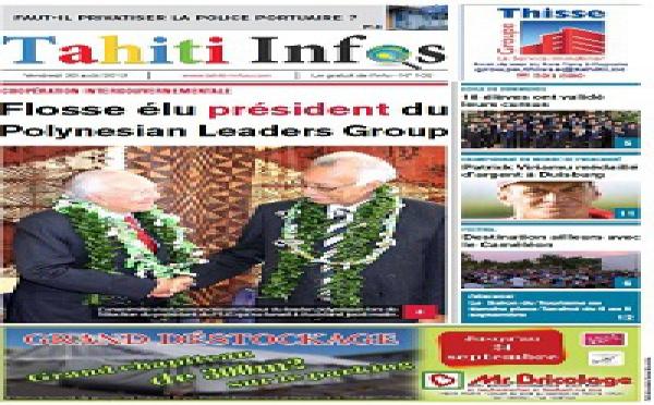 TAHITI INFOS N°102 du 30 août 2013