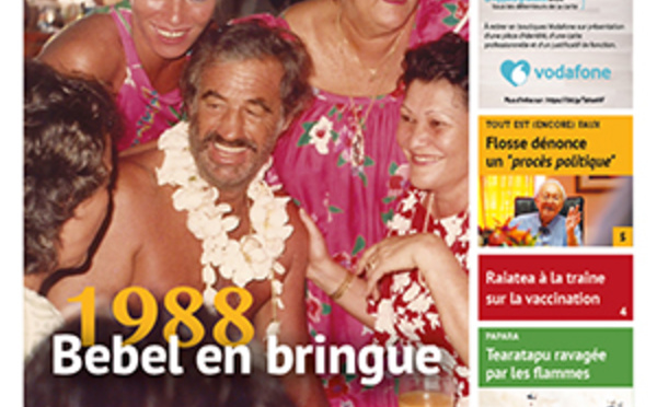 TAHITI INFOS N°1981 du 08 septembre 2021