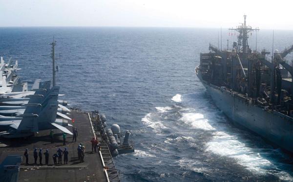 Les forces navales dans le Pacifique en augmentation face à la Chine