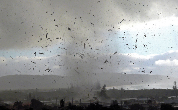 Une tornade fait d'importants dégâts matériels en Australie