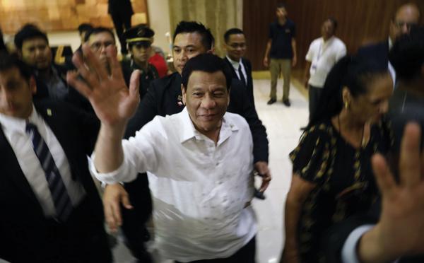 Philippines: Duterte annonce son retrait de la vie politique